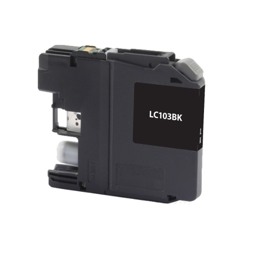 Brother LC103BK, LC101BK Black Inkjet Compatible